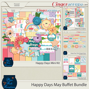 Happy Days May Buffet Bundle 2019 by Miss Fish