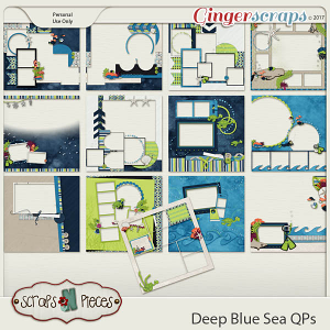 Deep Blue Sea Quick Pages