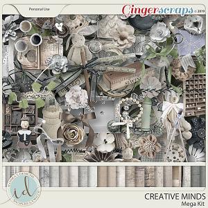 Creative Minds Mega Kit by Ilonka's Designs
