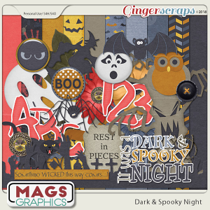 Dark & Spooky Night KIT by MagsGraphics
