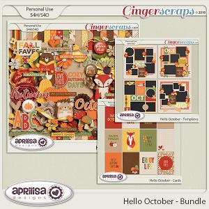Hello October - Bundle