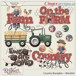 Country Bumpkin WordArt