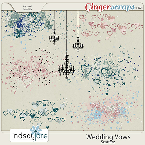 Wedding Vows Scatterz by Lindsay Jane