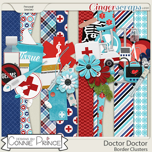 Doctor Doctor - Border Clusters by Connie Prince