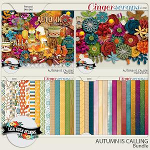 Autumn is Calling - Bundle by Lisa Rosa Designs