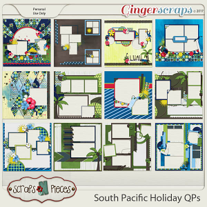 South Pacific Holiday Quick Pages