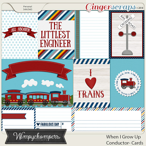 When I Grow Up- Conductor- Cards