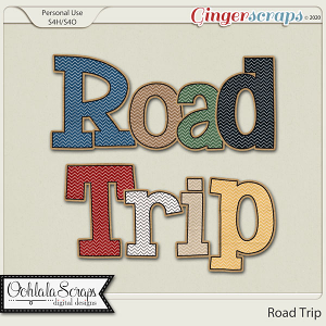 Road Trip Extra Alphabets
