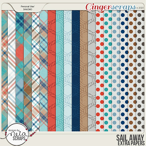 Sail Away - Extra papers - by Neia Scraps