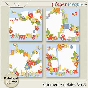 Summer Templates Vol.3