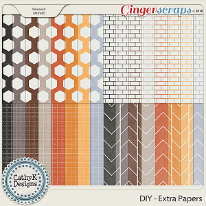 DIY - Extra Papers by CathyK Designs
