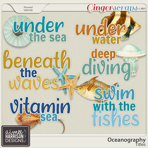 Oceanography Titles by Aimee Harrison