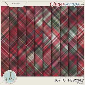 Joy To The World Plaids by Ilonka's Designs