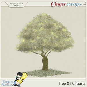 Doodles By Americo: Tree-01 Clipart