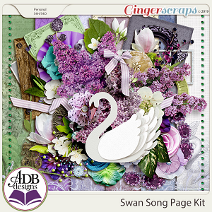 Swan Song Page Kit by ADB Designs