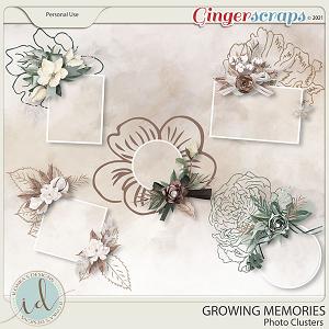 Growing Memories Photo Clusters by Ilonka's Designs