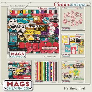 It's Showtime BUNDLE by MagsGraphics
