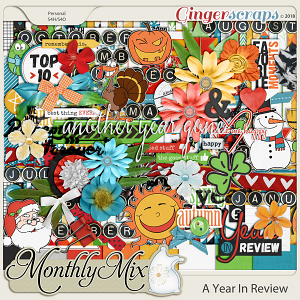 GingerBread Ladies Monthly Mix: A Year In Review