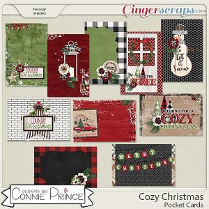 Cozy Christmas - Pocket Cards by Connie Prince