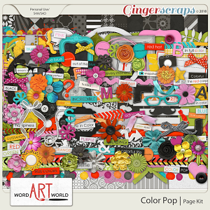 Color Pop Page Kit