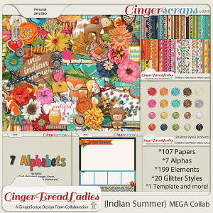 GingerBread Ladies MEGA Collab: Indian Summer