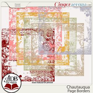 Chautauqua Page Borders by ADB Designs