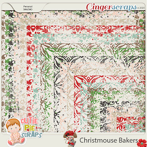 Christmouse Bakers Messy Edges
