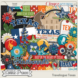 Travelogue Texas - Kit