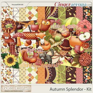 Autumn Splendour Kit by JoCee Designs