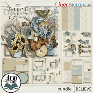 Believe Bundle by ADB Designs
