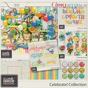 Celebrate Collection by Aimee Harrison