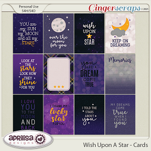 Wish Upon A Star - Cards by Aprilisa Designs