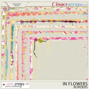 In Flowers - Borders - by Neia Scraps