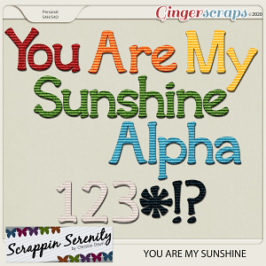 You Are My Sunshine Alpha