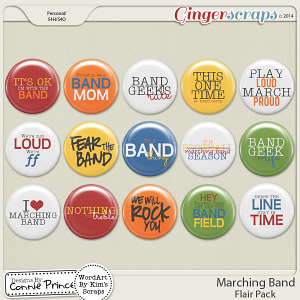 Marching Band - Flair Pack