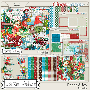 Peace & Joy - Bundle Collection by Connie Prince