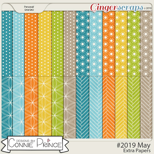 #2019 May - Extra Papers by Connie Prince