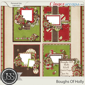 Boughs Of Holly 8.5x11 Quick Pages