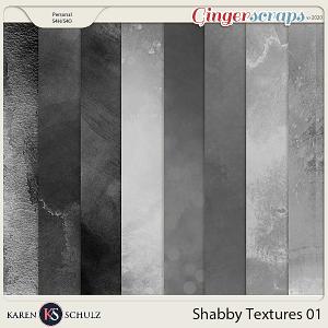 Shabby Textures 01 by Karen Schulz