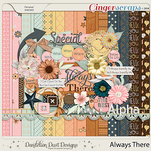Always There Digital Scrapbook Kit By Dandelion Dust Designs