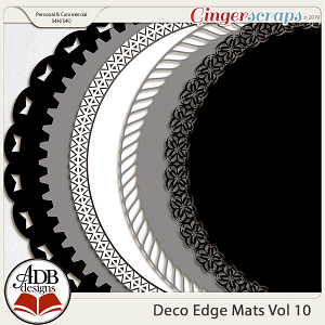 Deco Mats Vol 10 by ADB Designs