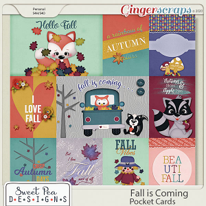 Fall is Coming Pocket Cards
