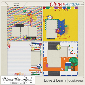 Love 2 Learn | Quick Pages