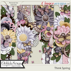 Think Spring Page Borders