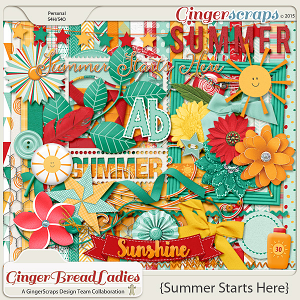 GingerBread Ladies Collab: Summer Starts Here