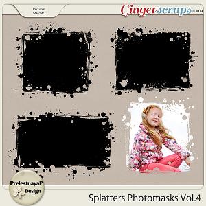 Splatters Photomasks Vol.4