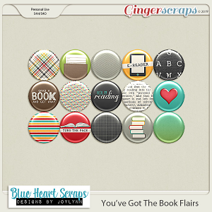 You've Got The Book Flair Pack