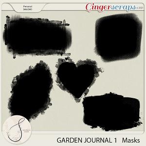 Garden Journal 1 Masks
