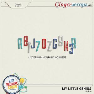 My Little Genius Alphas by JB Studio