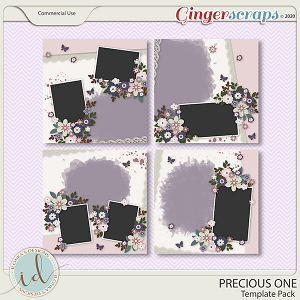 Precious One Template Pack by Ilonka's Designs